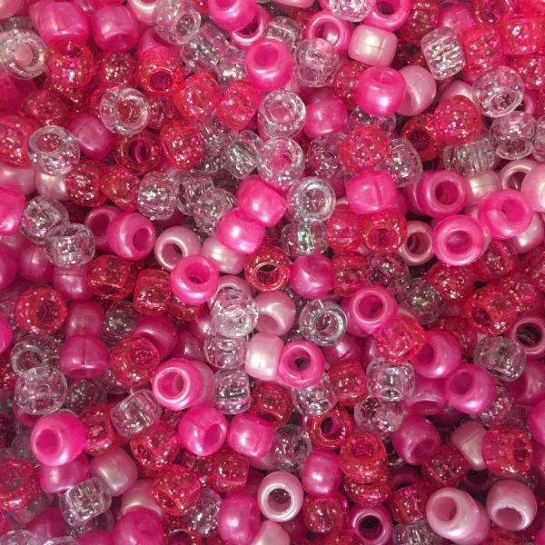 pink glitter mix