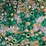 Green Glitter Mix