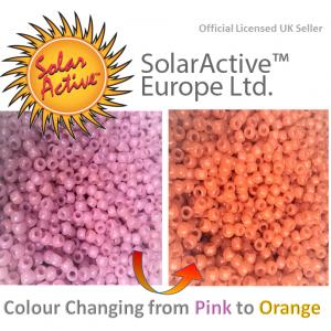 pink to orange