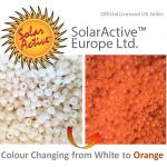 white to orange